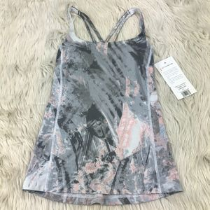 NWT Lucy Gray Marble Let It Be Bra Tank